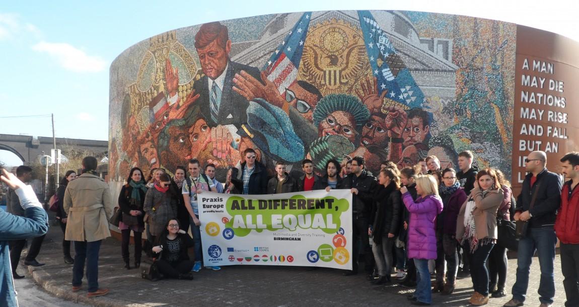 All Different, All Equal – Multimedia and Diversity Training / Birmingham - U.K.